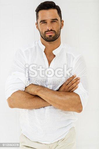 istock Handsome man 910560028