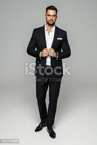 istock Handsome man 912704608