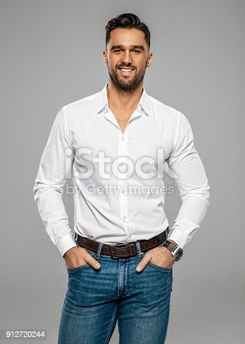906807208istockphoto Handsome man 912720244