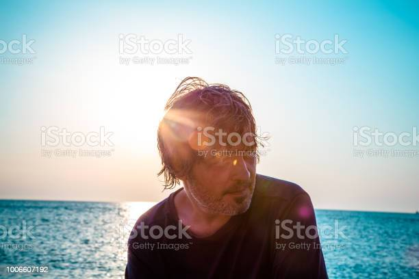 Photo of Handsome man with a faraway look