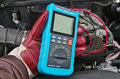 istock Handsome mechanic working 470428782