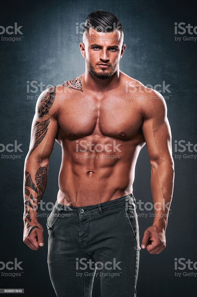 Handsome Men stock photo