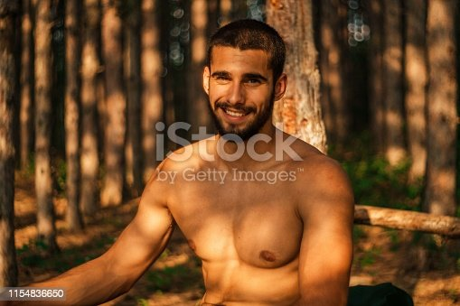 485902386 istock photo Handsome muscular man 1154836650