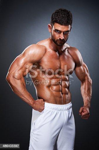 618209684 istock photo Handsome Muscular Men 486403392