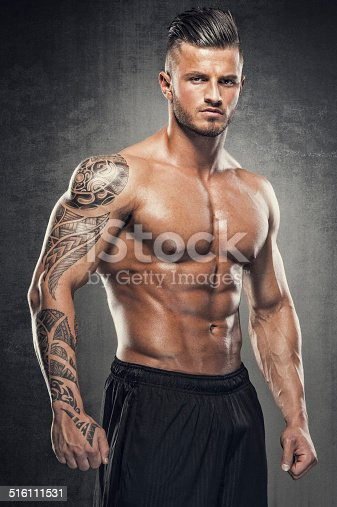 Portrait of sexy Muscular Men