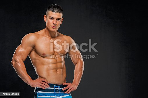 618209684istockphoto Handsome Muscular Men 530634903