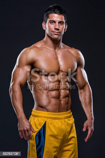 618209684istockphoto Handsome Muscular Men 532937081