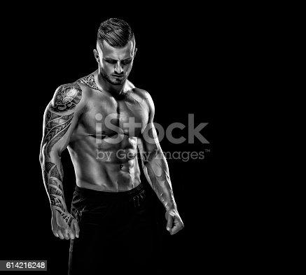 istock Handsome Muscular Men 614216248