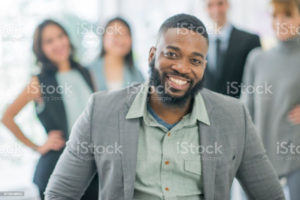 Handsome royalty-free stock photo