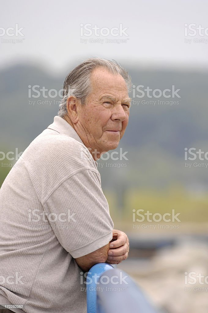 Handsome Senior Man royalty-free stock photo