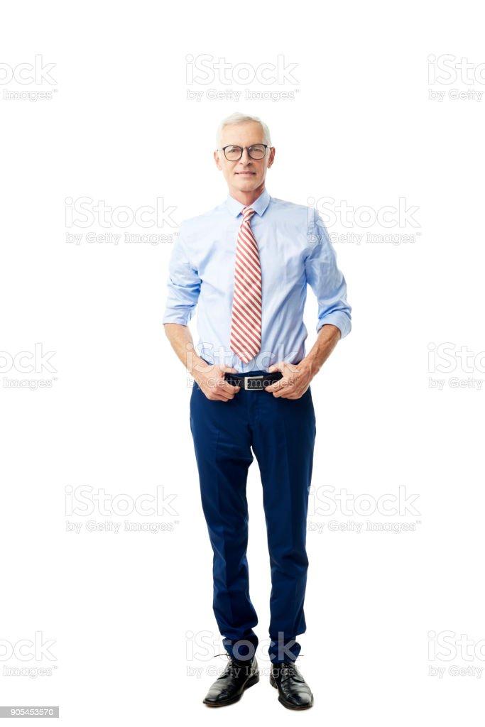 portrait de bel homme senior  - Photo