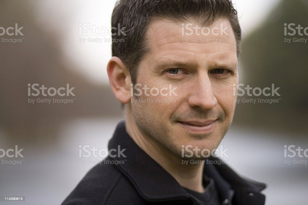 Handsome Smiling Man royalty-free stock photo