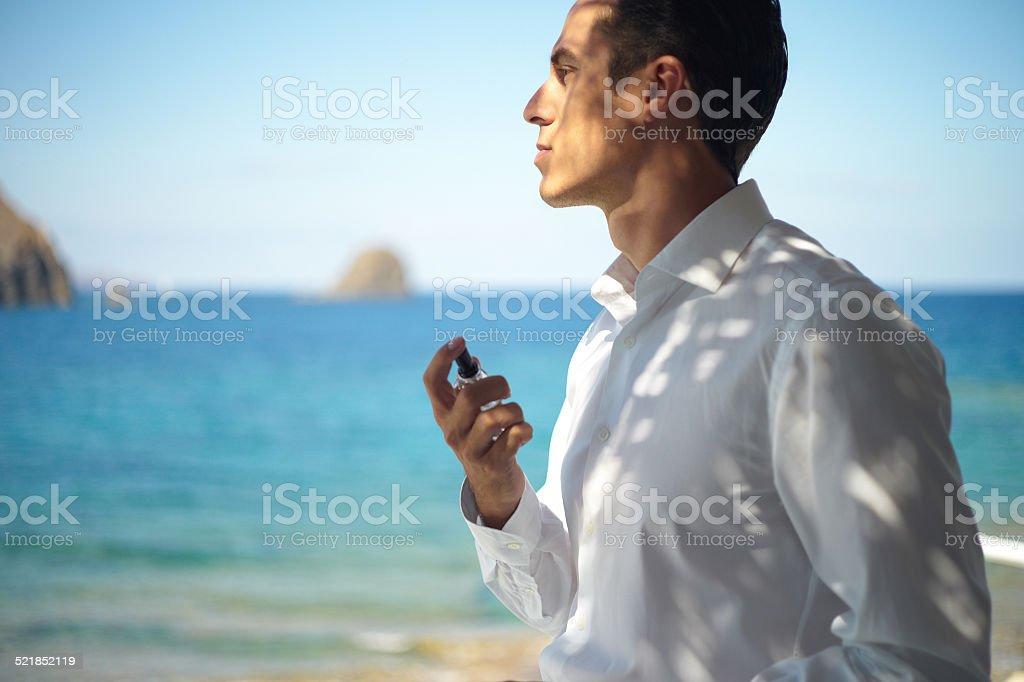 Handsome stylish man stock photo