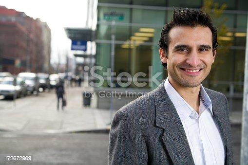 istock handsome urban hispanic man 172672969