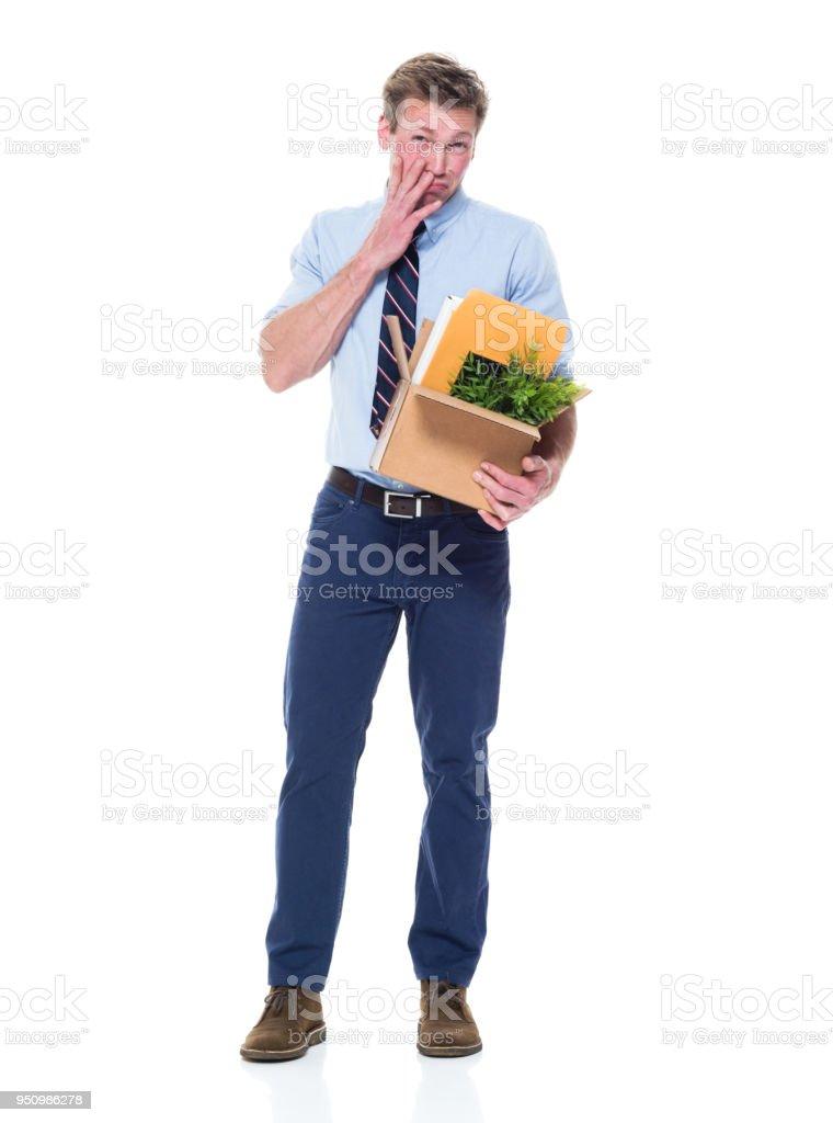 Guapo Bien Vestido Hombre Que Ahora Es Desempleado Foto De Stock Y