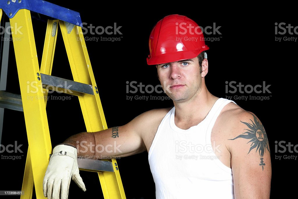 Handsome Worker royalty-free stock photo