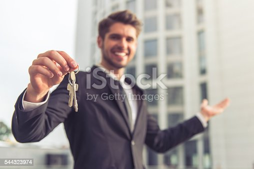 684793898 istock photo Handsome young businessman 544323974