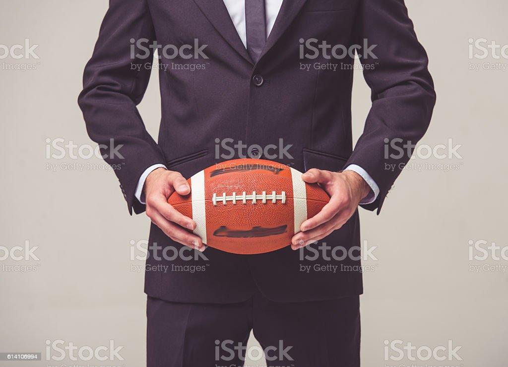 Beau jeune homme d'affaires  - Photo