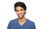 istock Handsome young indian man smiling 474671503