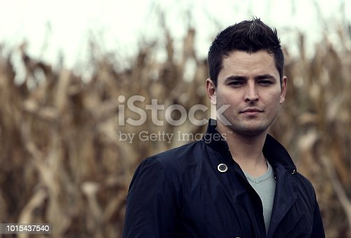 istock Handsome young man close up pictures 1015437540