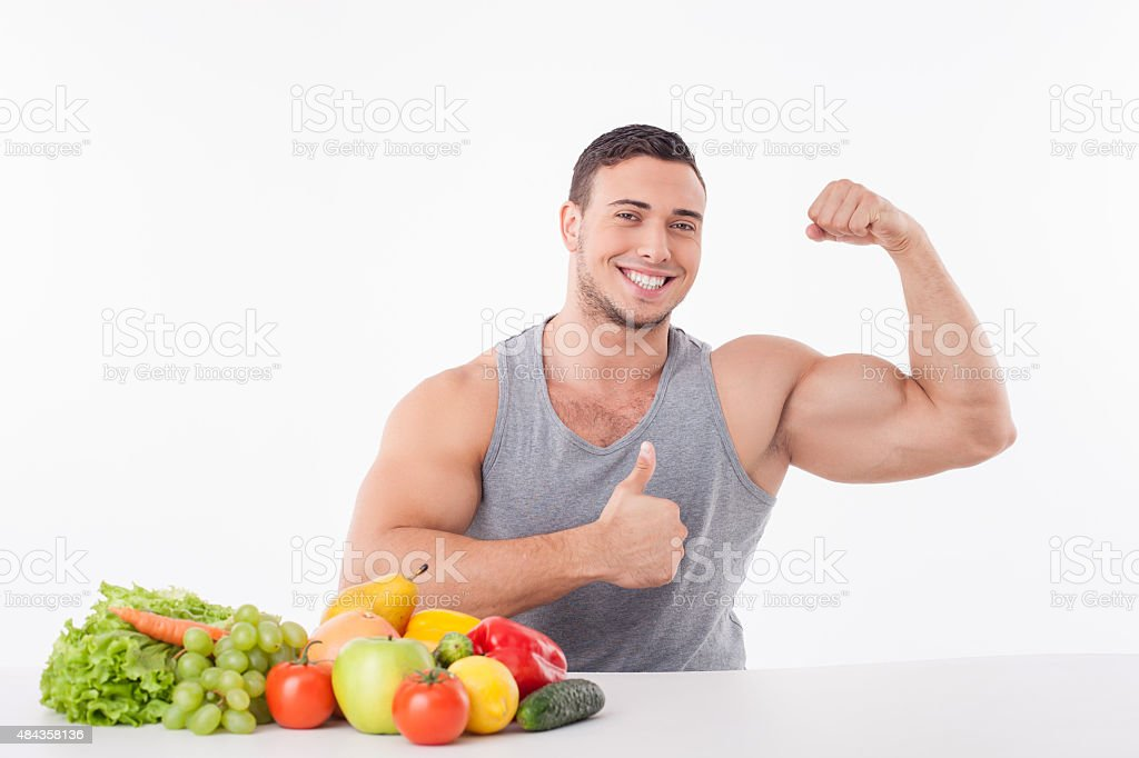 Handsome Young Man Is Proud Of His Healthy Body Stock Photo Istock