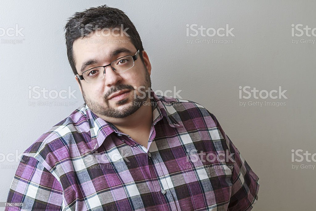 Handsome young man royalty-free stock photo