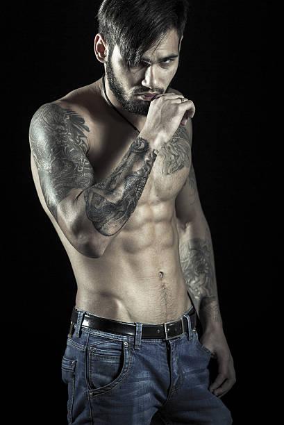 Tattoo brust männer Tattoos Männer