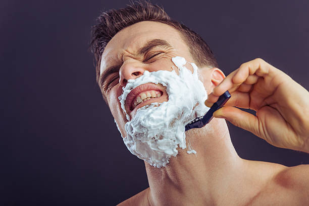 Shaving Should Not Be This Painful Stock Photos, Pictures ...