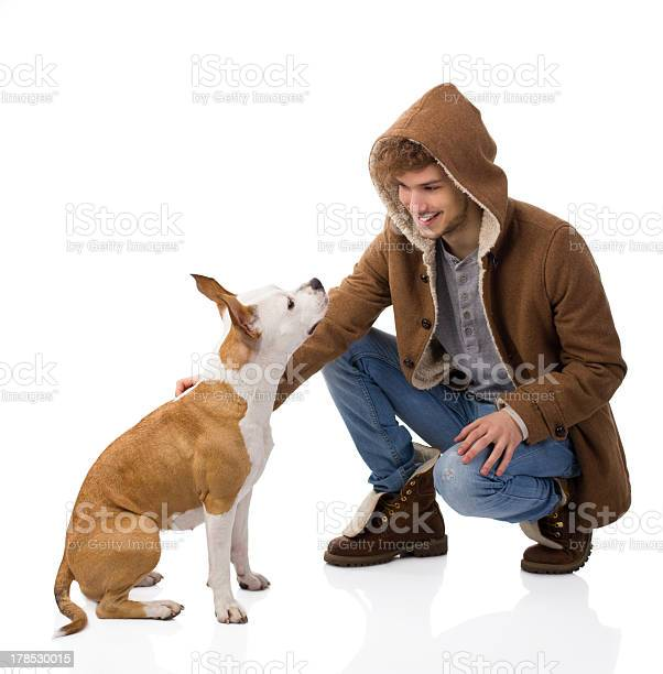 Handsome young man with his dog picture id178530015?b=1&k=6&m=178530015&s=612x612&h=a9 cdk4d6zkqyaystql1u1clwnhcc aojftouglhvey=