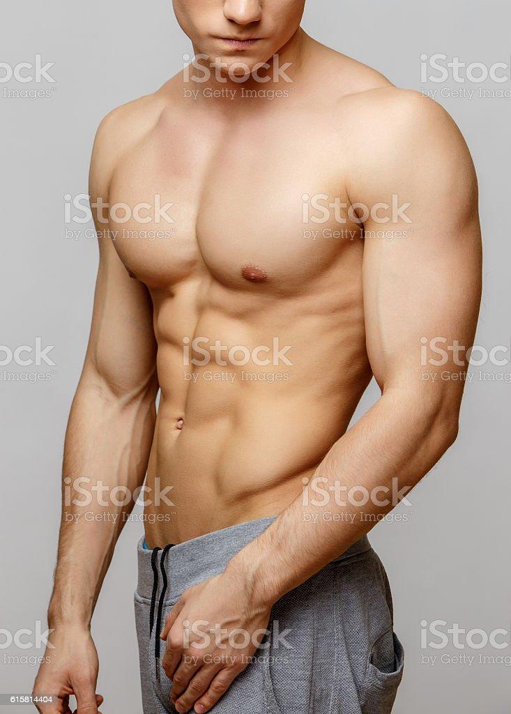 Handsome young man's torso – zdjęcie