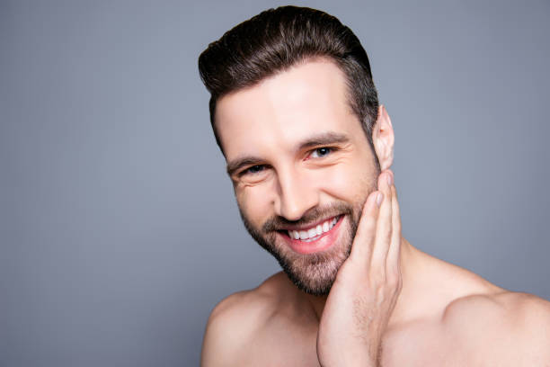 6 104 Naked Men With Beards Stock Photos Pictures Royalty Free Images Istock