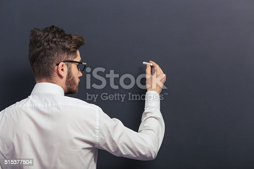 istock Handsome young student 515377504