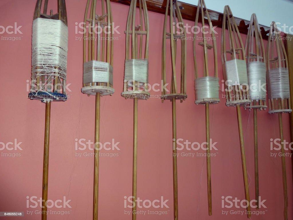 Handspindel stock photo