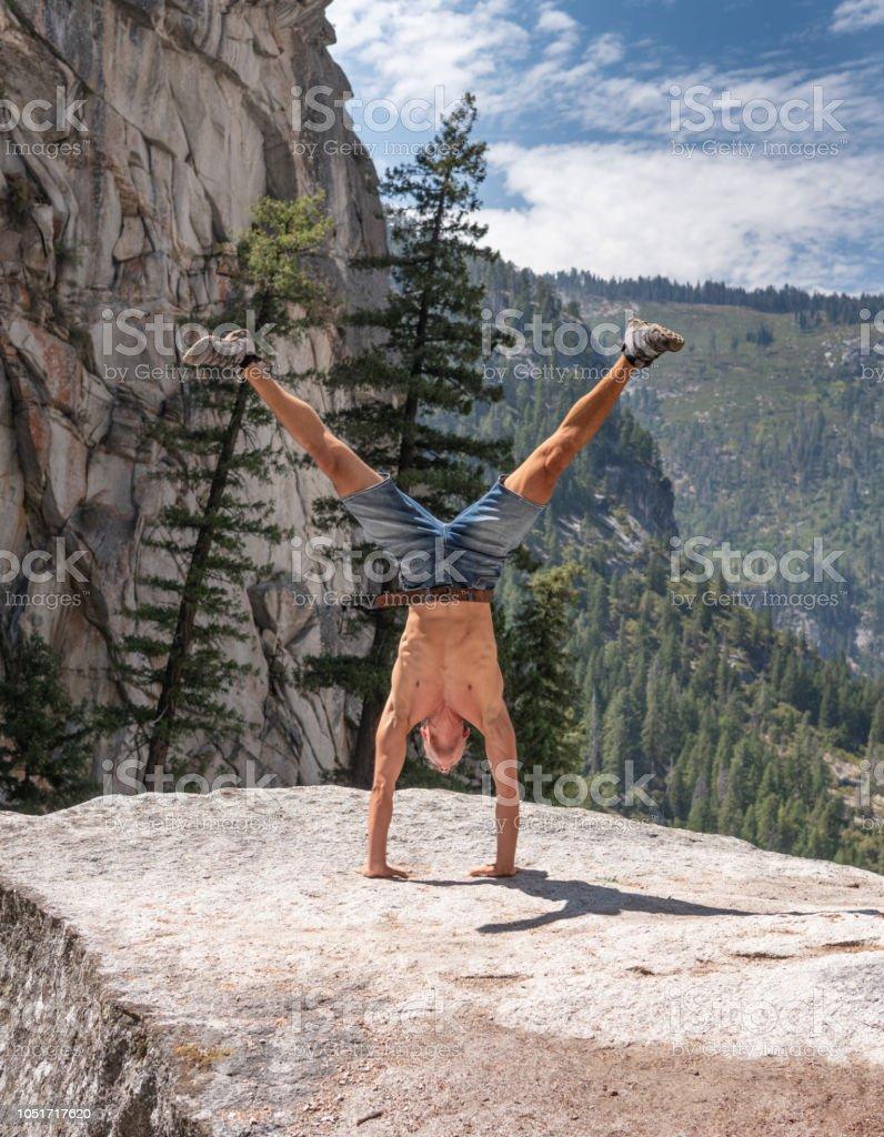 Handstand, Yosemite-Nationalpark, Kalifornien, USA – Foto
