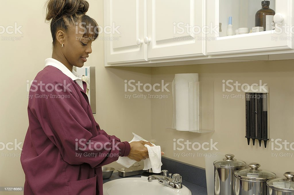 handwash prep stock photo