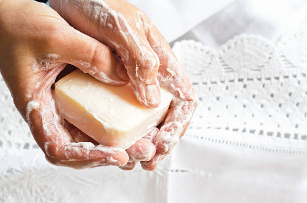 Handwashing. stock photo