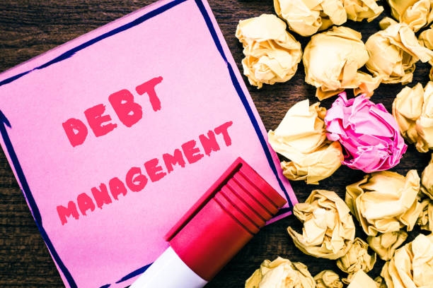 Handwriting text Debt Management. Concept meaning The formal agreement between a debtor and a creditor Handwriting text Debt Management. Concept meaning The formal agreement between a debtor and a creditor. debenture stock pictures, royalty-free photos & images