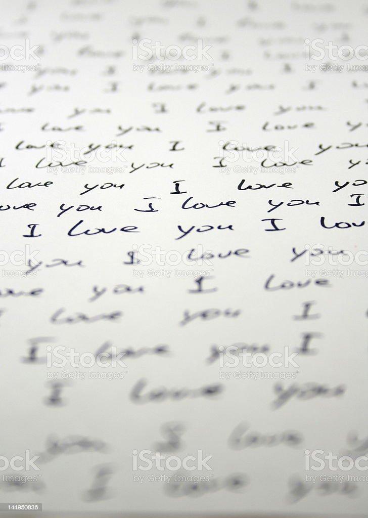 Fotografia De Escrito A Mano Carta De Amor Y Mas Banco De Imagenes