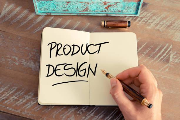 handwritten text product design - produktdesigner stock-fotos und bilder