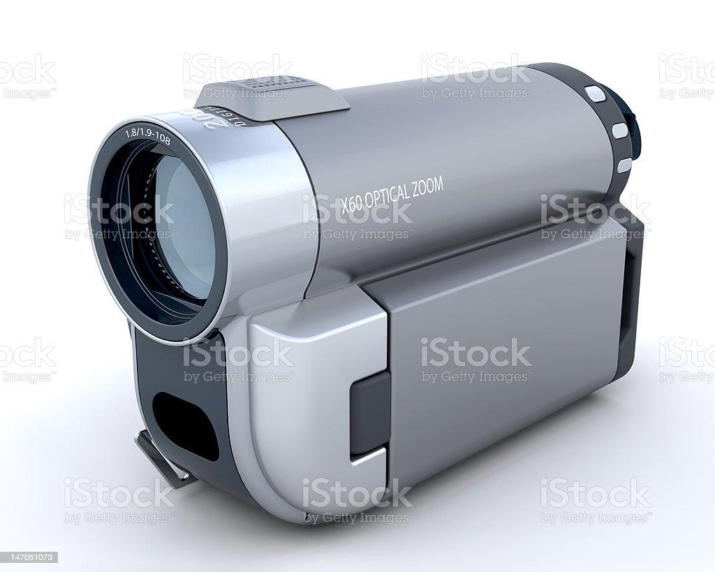 3D Handycam stock photo