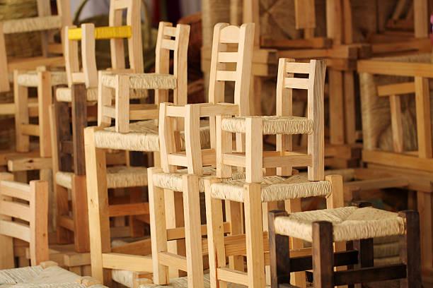 handycraft - mexikanische möbel stock-fotos und bilder
