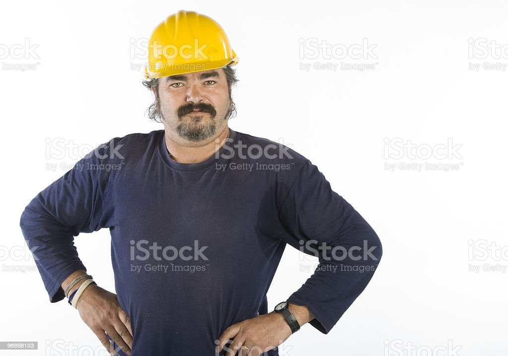 handyman or worker royalty-free stock photo