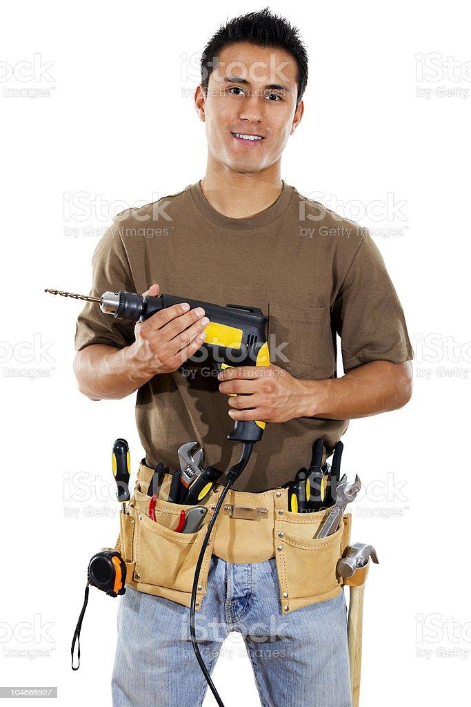 Handyman royalty-free stock photo