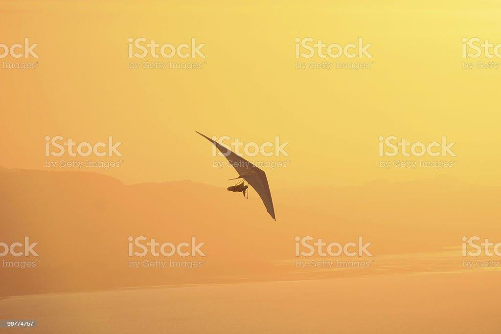 Hang Glider  Aircraft Wing Stock Photo