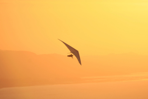 Hang Glider Stock Photo - Download Image Now