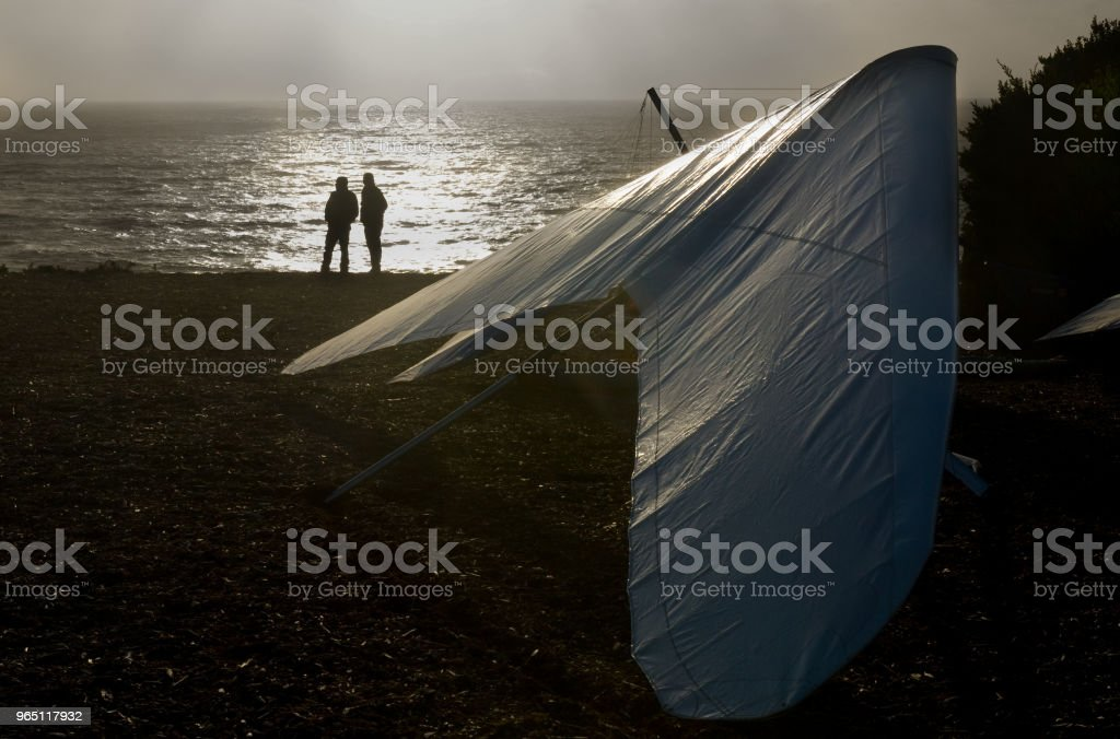 Hang Gliding - San Francisco royalty-free stock photo