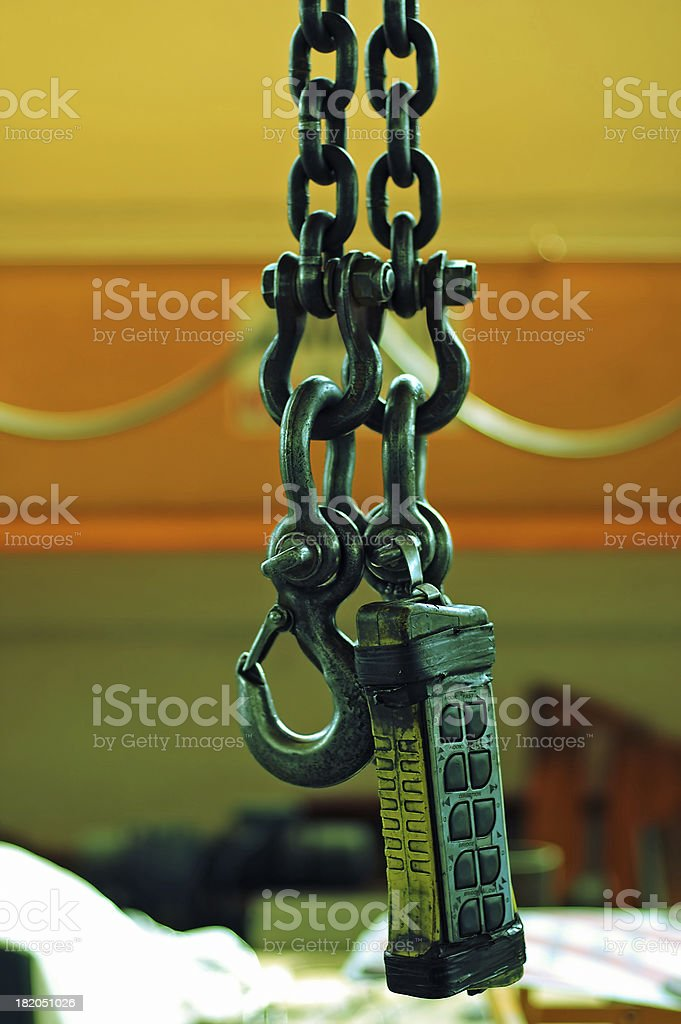 Hang it 2 - vired royalty-free stock photo