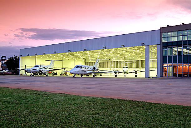 hangar hangar airplane hangar stock pictures, royalty-free photos & images