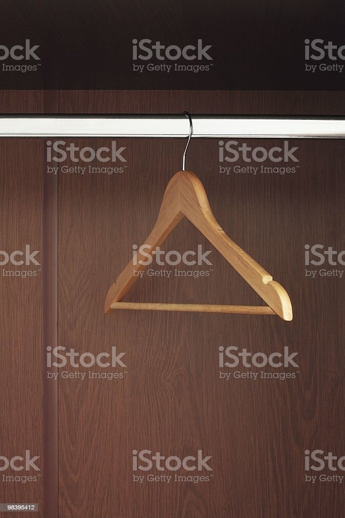 Hanger royalty-free stock photo