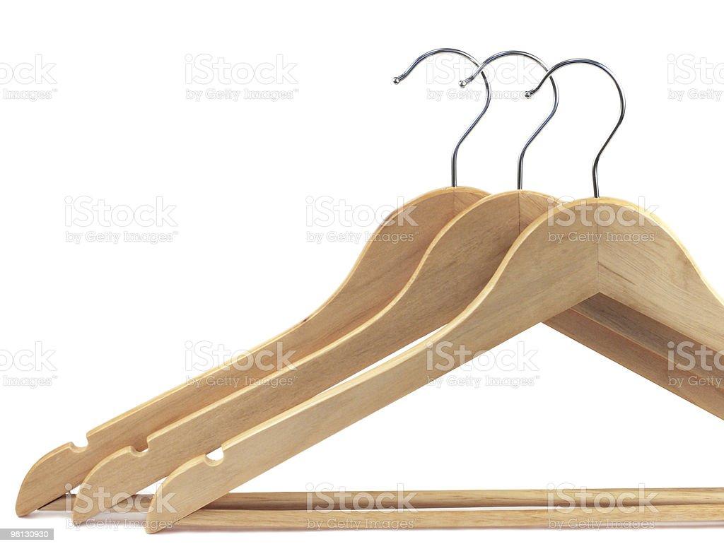 Hangers royalty-free stock photo